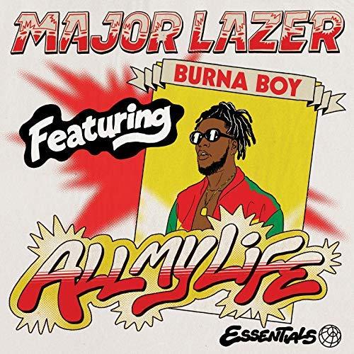 Major Lazer feat  Burna Boy - All My Life (Acapella